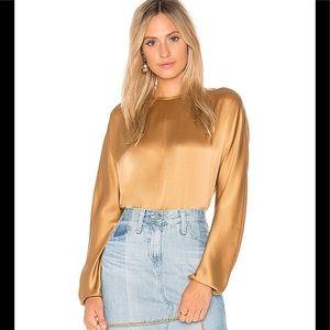 Vince Slit back blouse size M